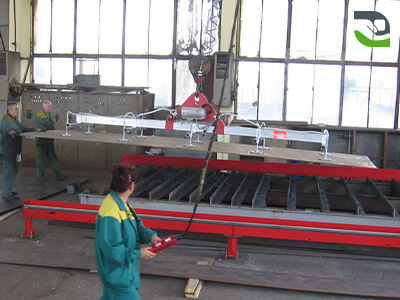 Suction cup lifting device - Handling lifting device for panels