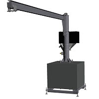 Jib with a mobile base