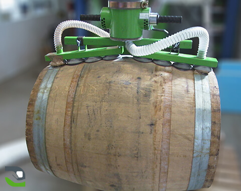 Barrel handling: Bottling