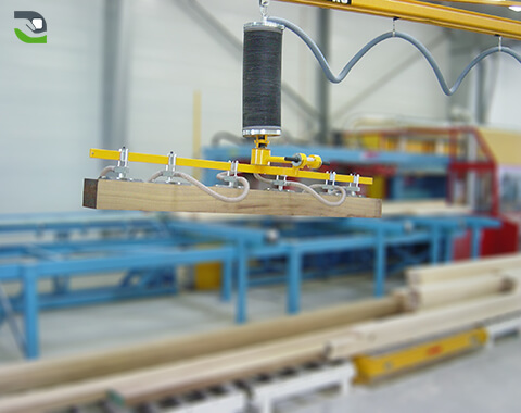 Handling of beams: Palletizing/cutting